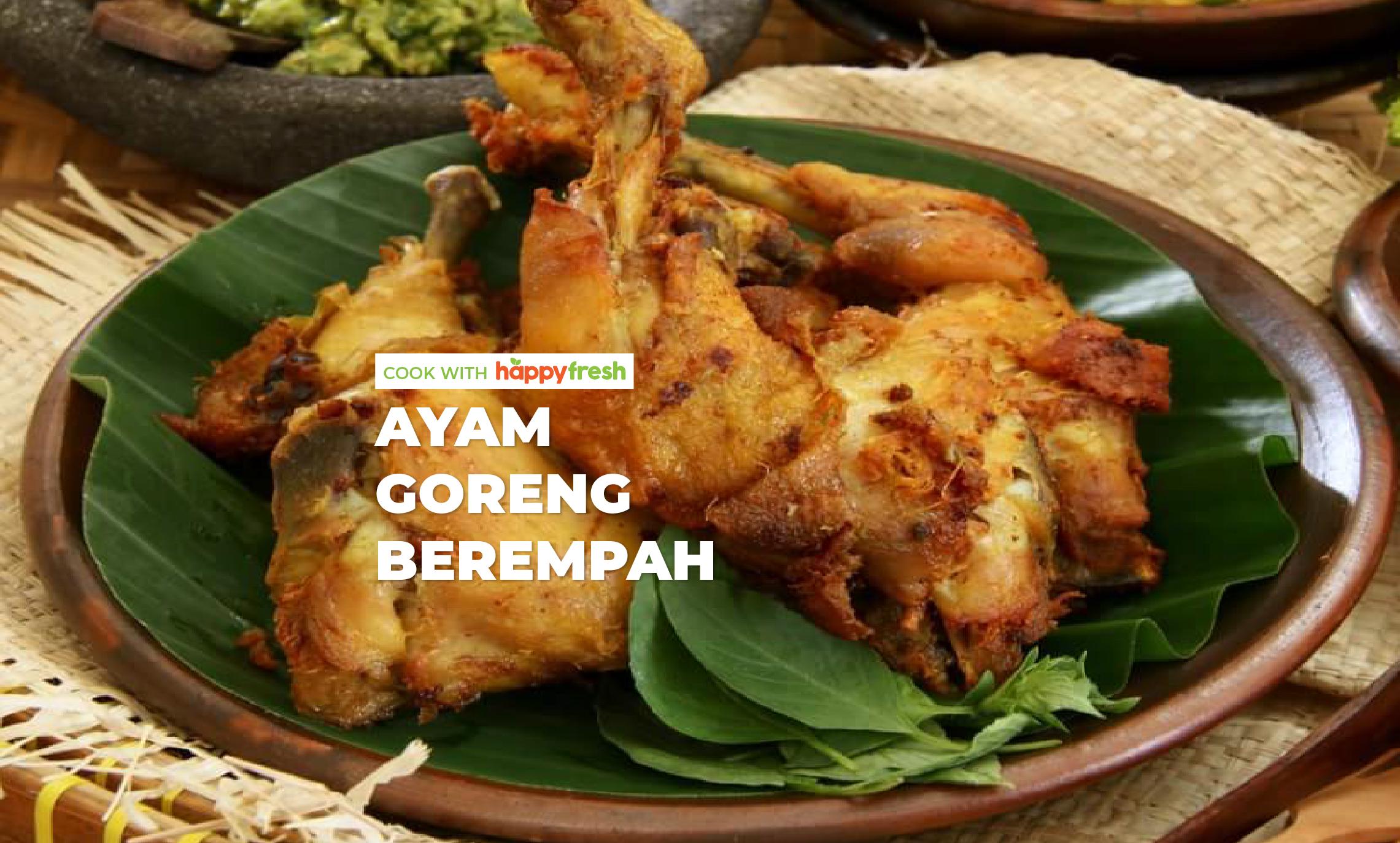 Ayam Goreng Berempah recipe