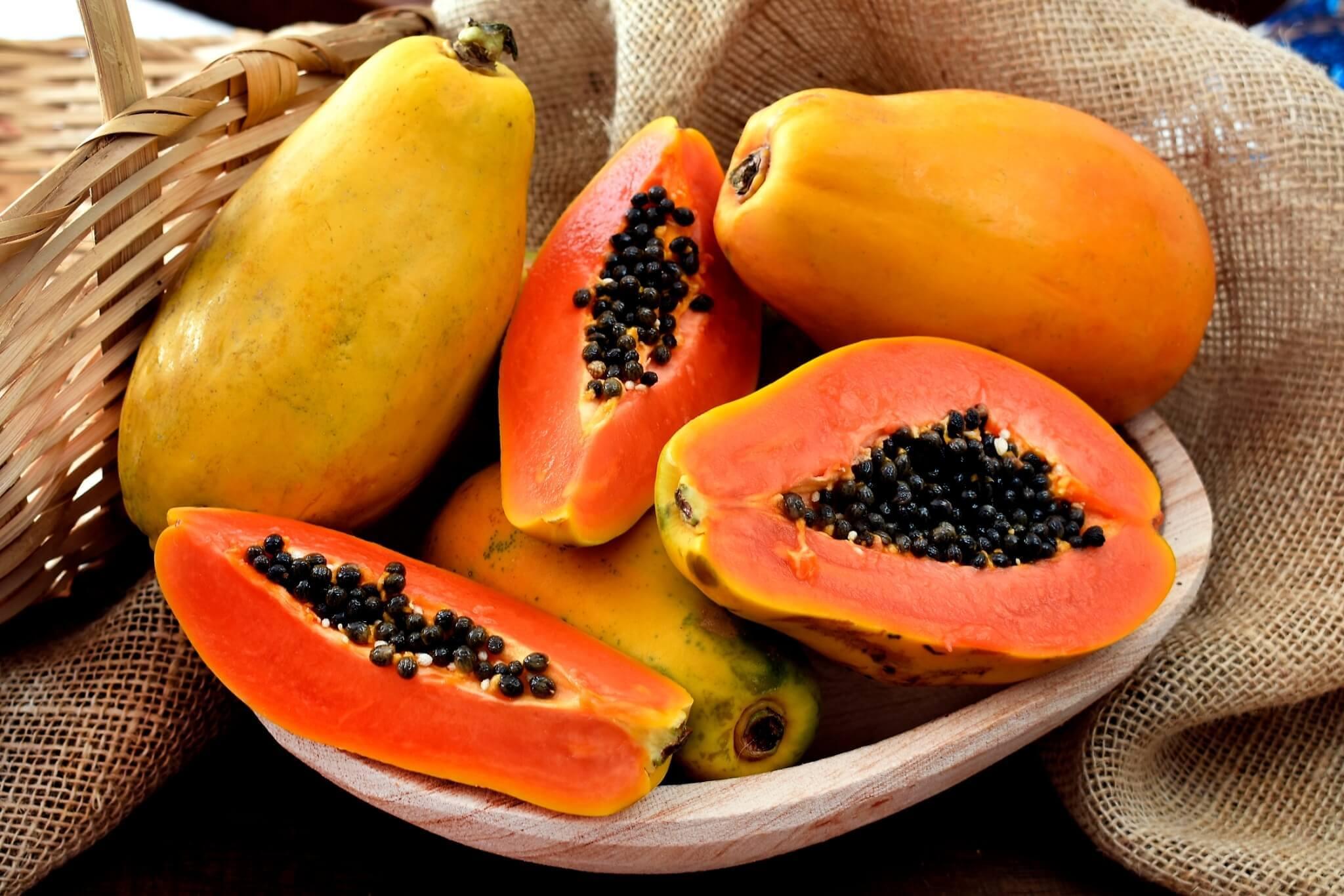 ผลไม้ มะละกอ