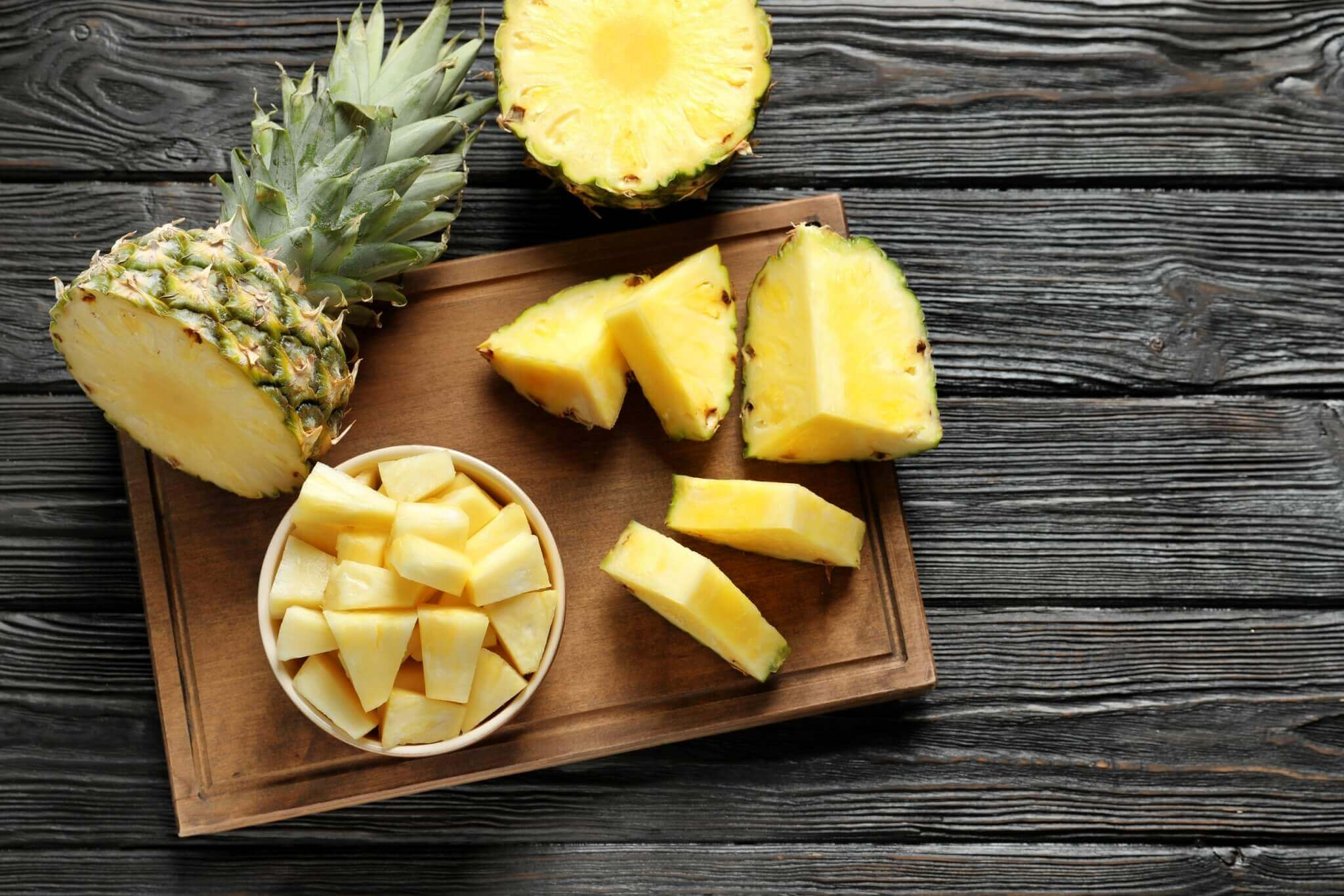 ผลไม้หน้าร้อน สับปะรด