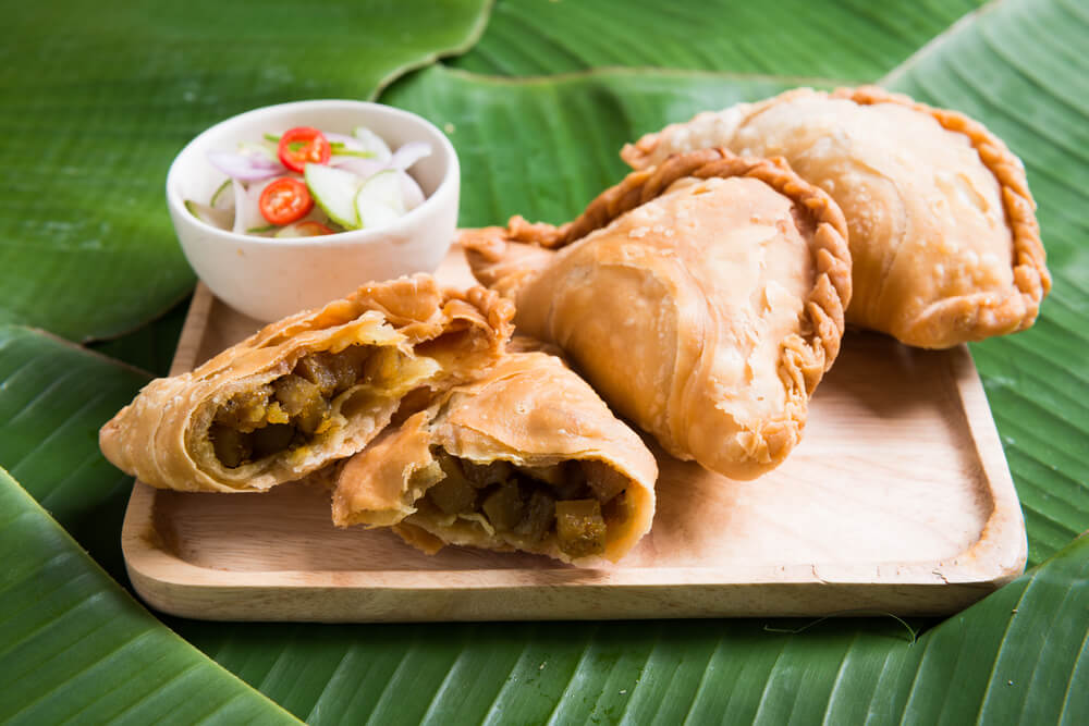 Karipap is a Malaysian delicacy.