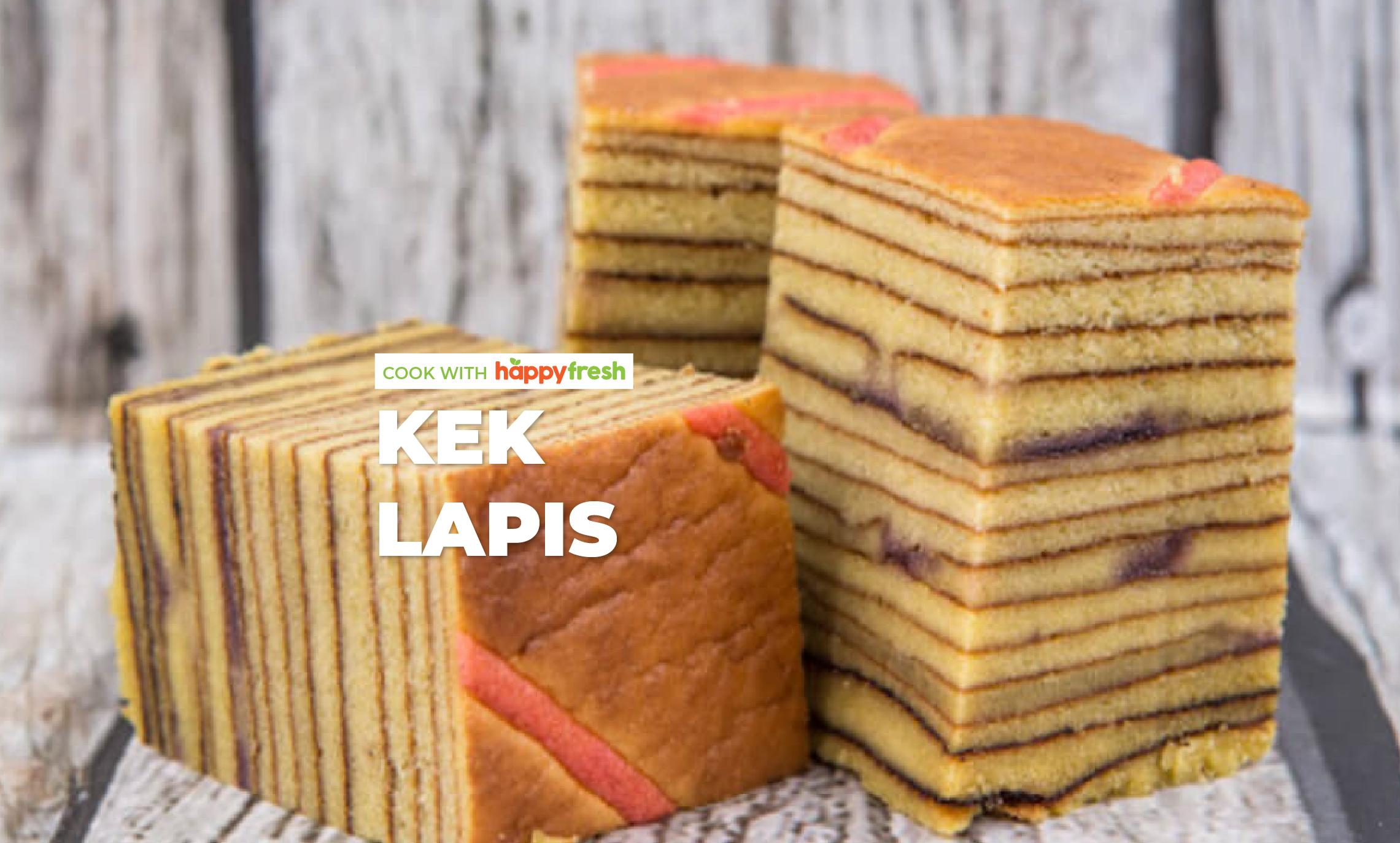 Kek Lapis Recipe