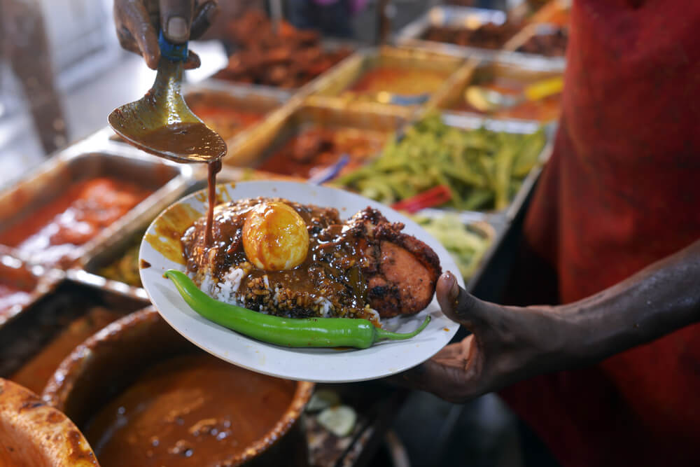 nasi kandar curry beef curry chicken mamak restaurants
