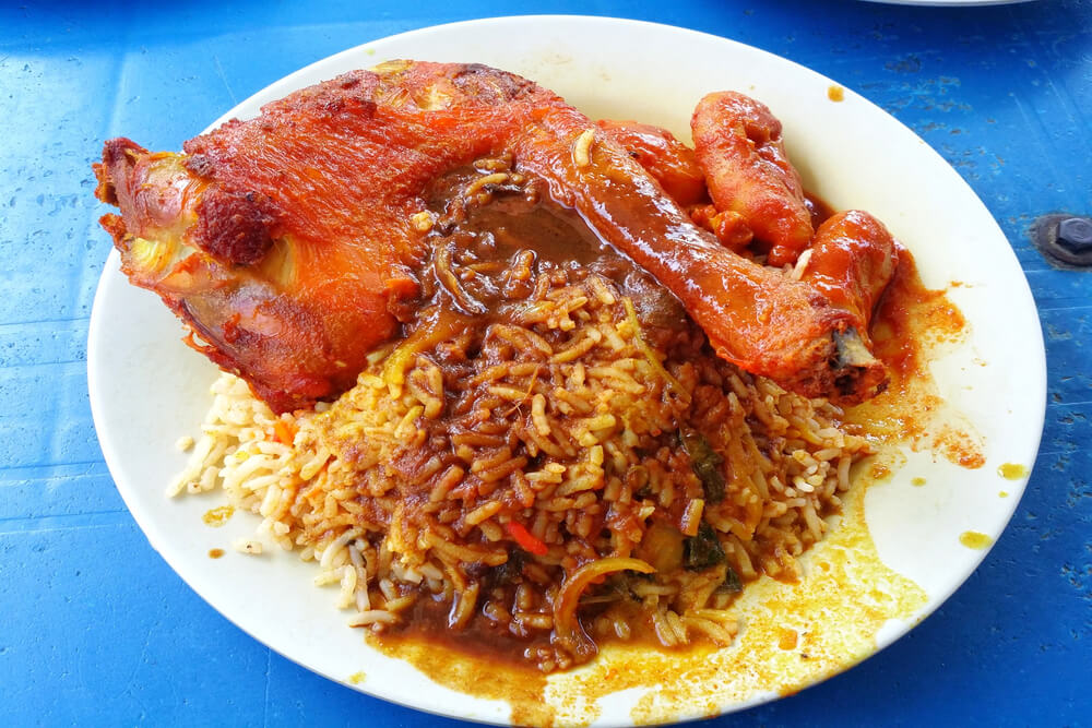 How to cook the best and delicious nasi kandar ayam goreng mamak style