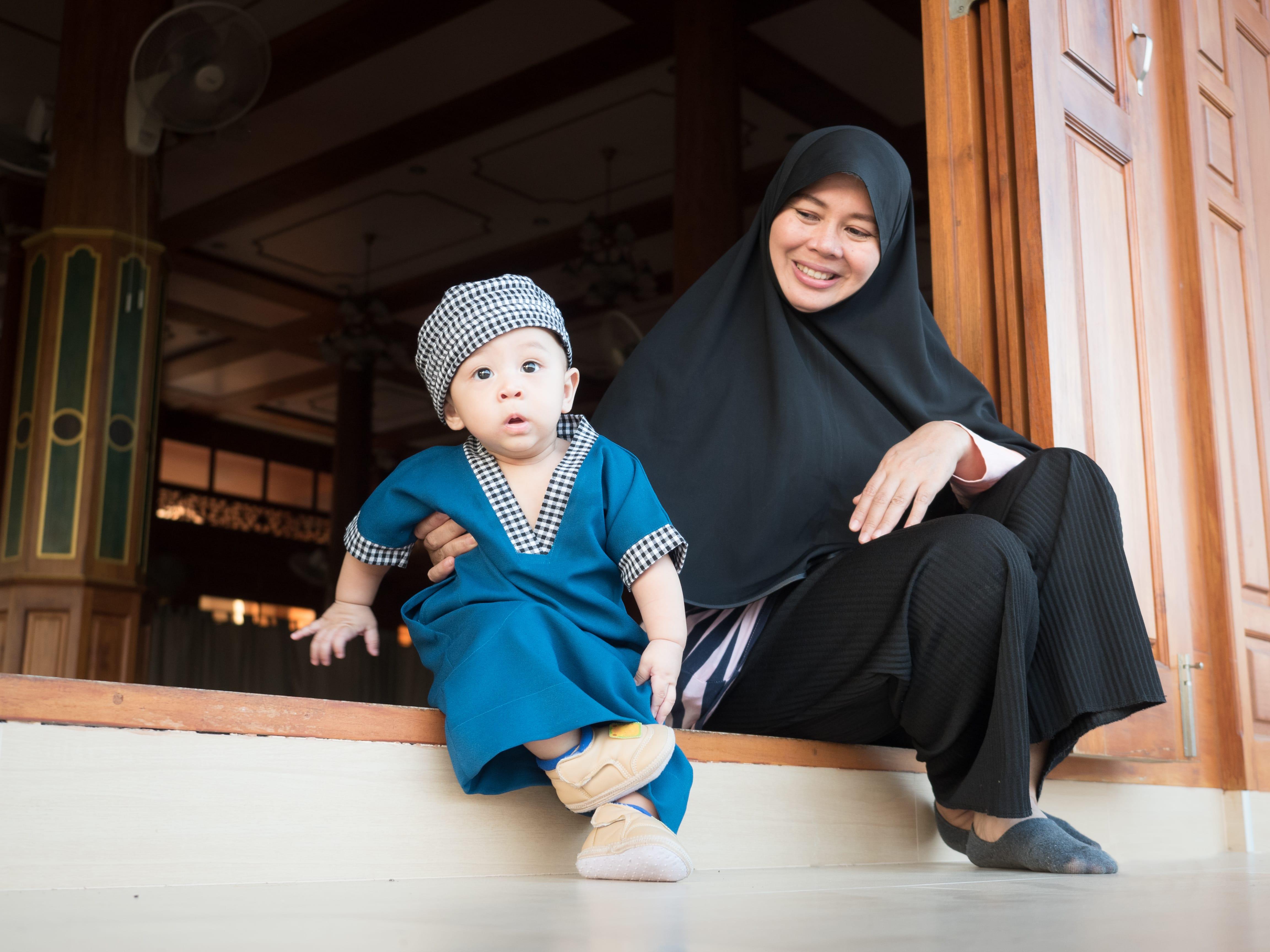 mudik bersama anak kecil