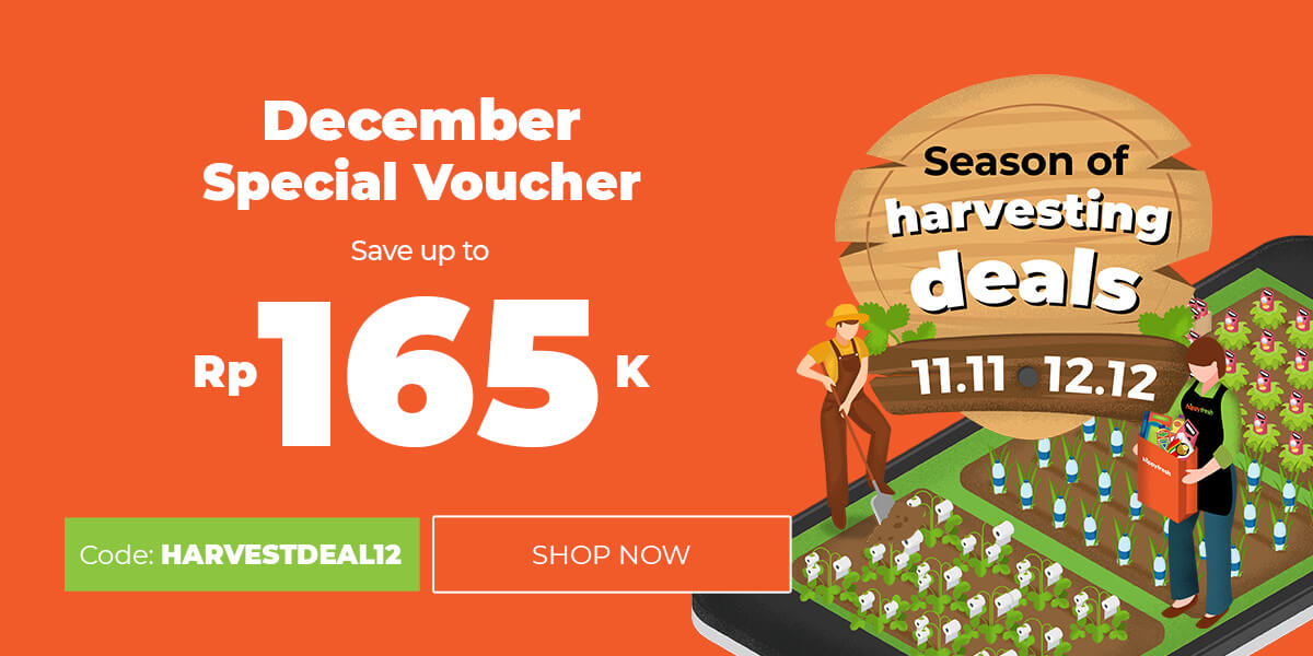 6 Promo Diskon Terbaik Harvestthedeals Selama Desember Happyfresh