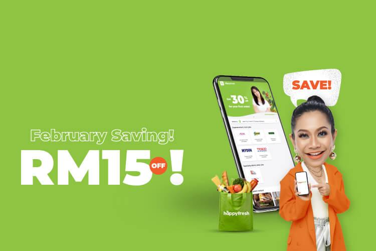 Get RM15 off