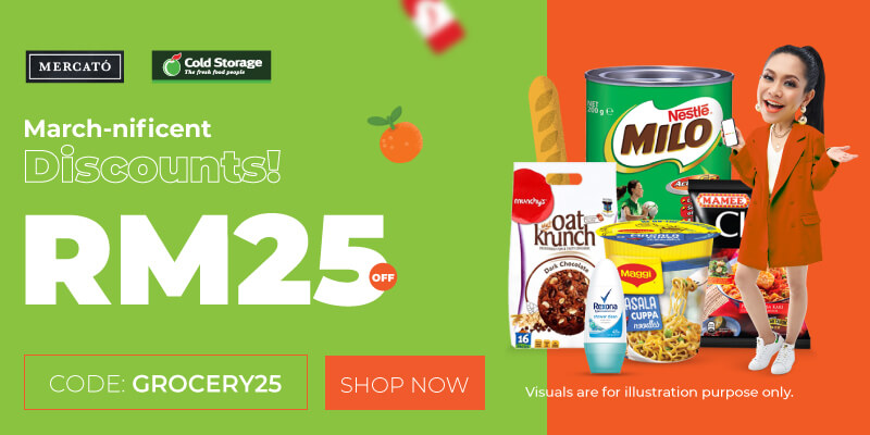 Value of money - save RM25 OFF