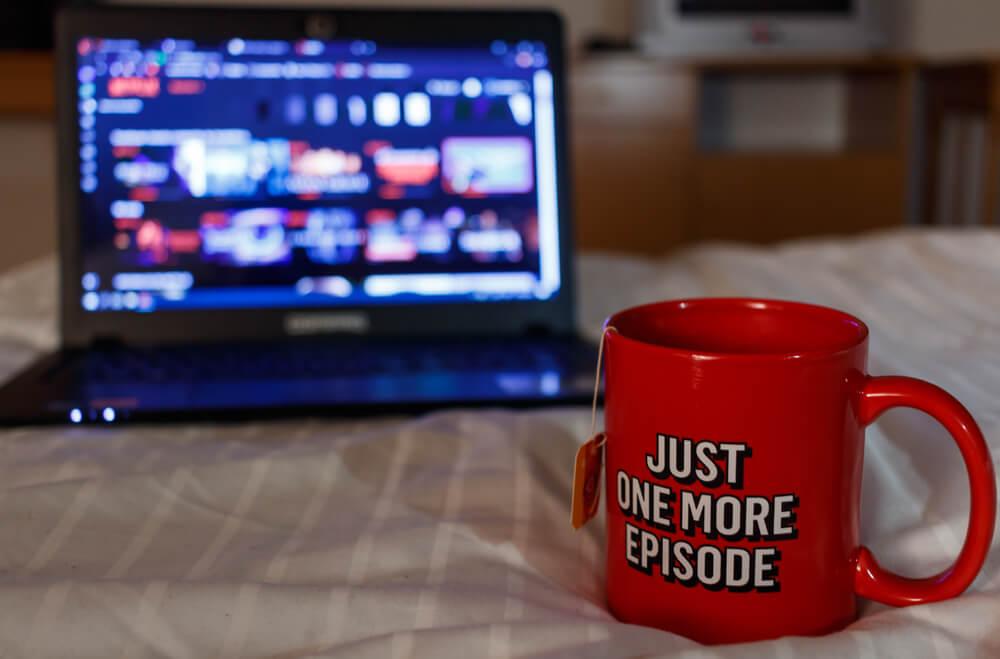 Binge watch Netflix during MCO
