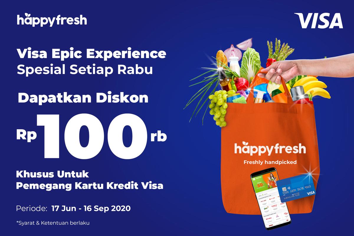 HappyFresh - Visa Wednesday Promo Jun 2020