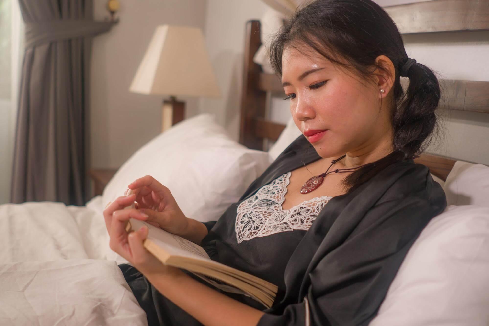 Read helps us go to sleep.