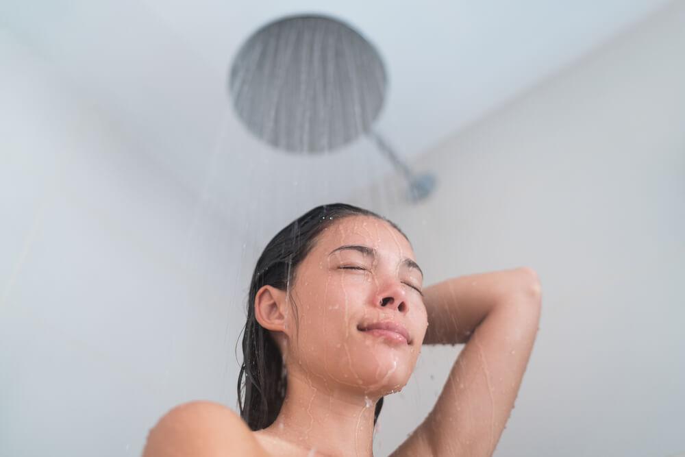 Warm showers helps us sleep at night.