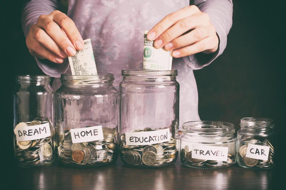 Managing finances moving forward.