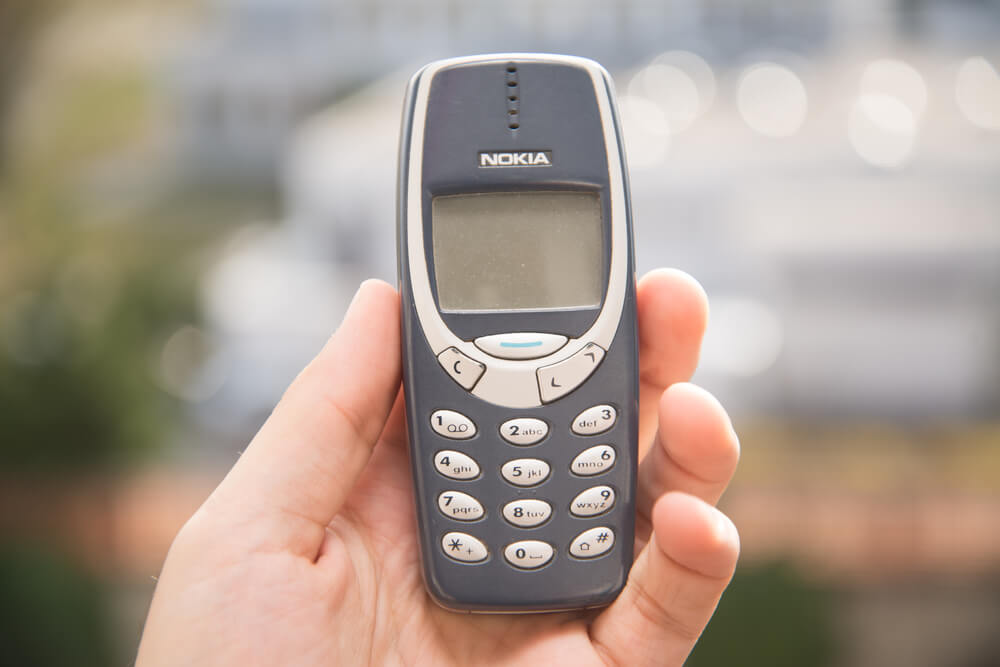 Nokia phone we used to SMS.