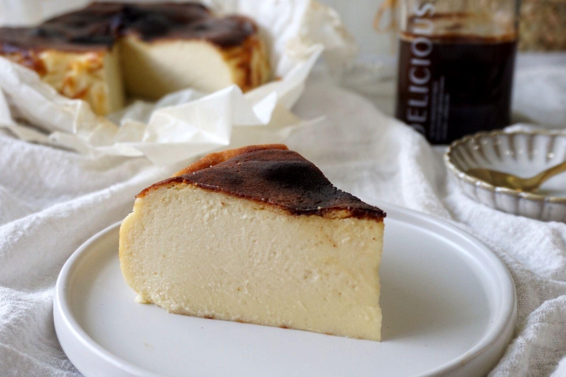 HappyFresh_Basque_Burnt_Cheesecake