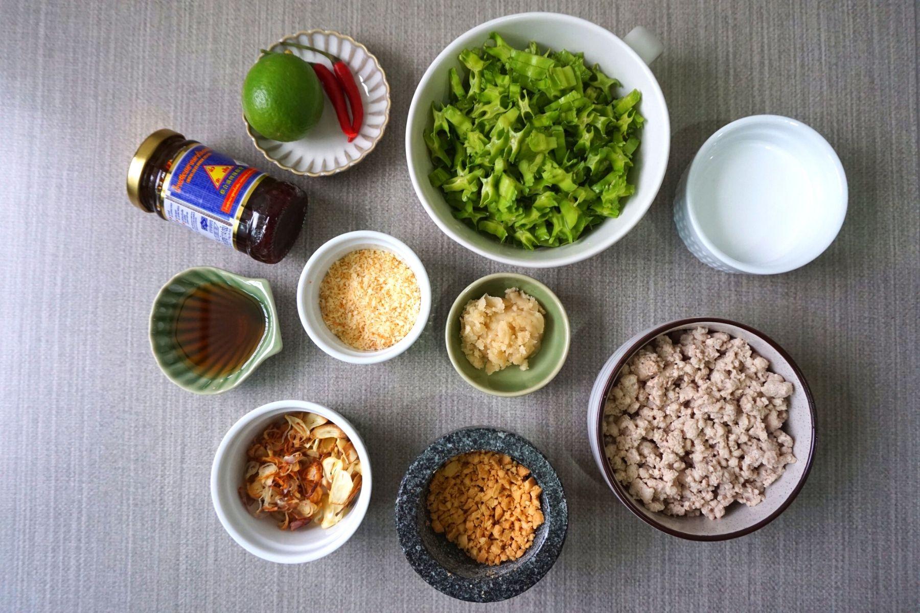 HappyFresh_Winged_Bean_Salad_With_Minced_Pork_Ingredients