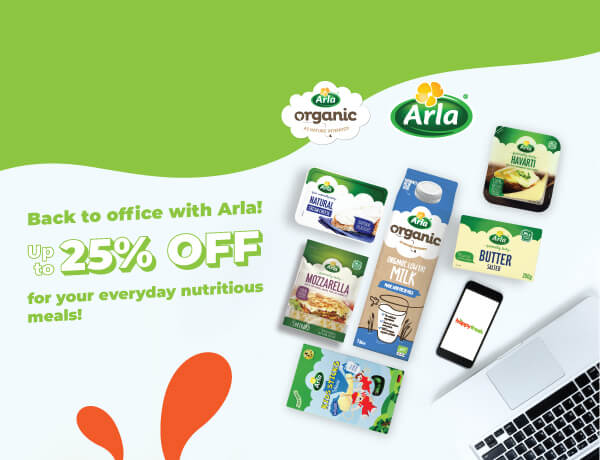 Arla Up to 25% OFF