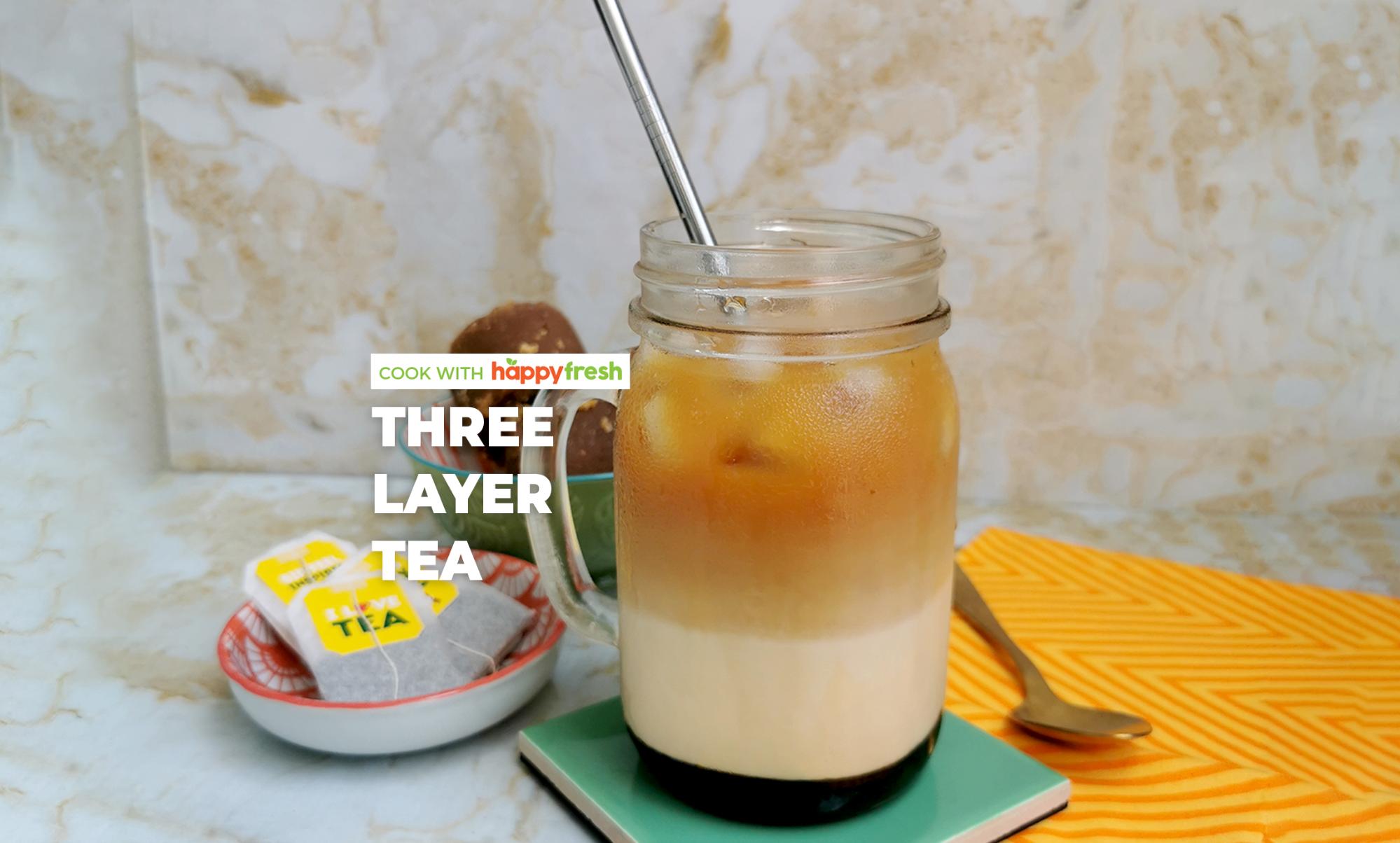 three layer tea