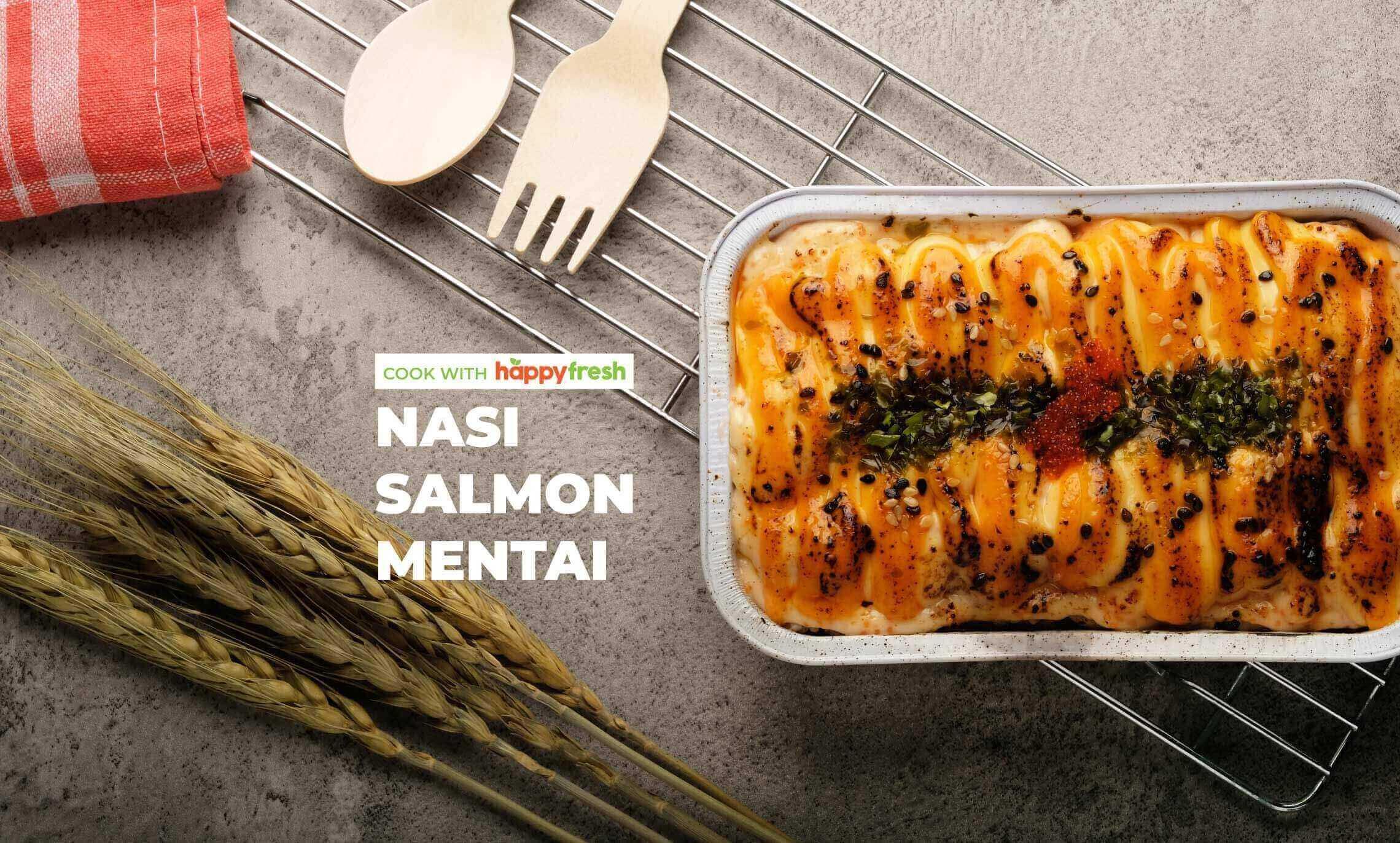 HappyFresh_cara_membuat_salmon_mentai