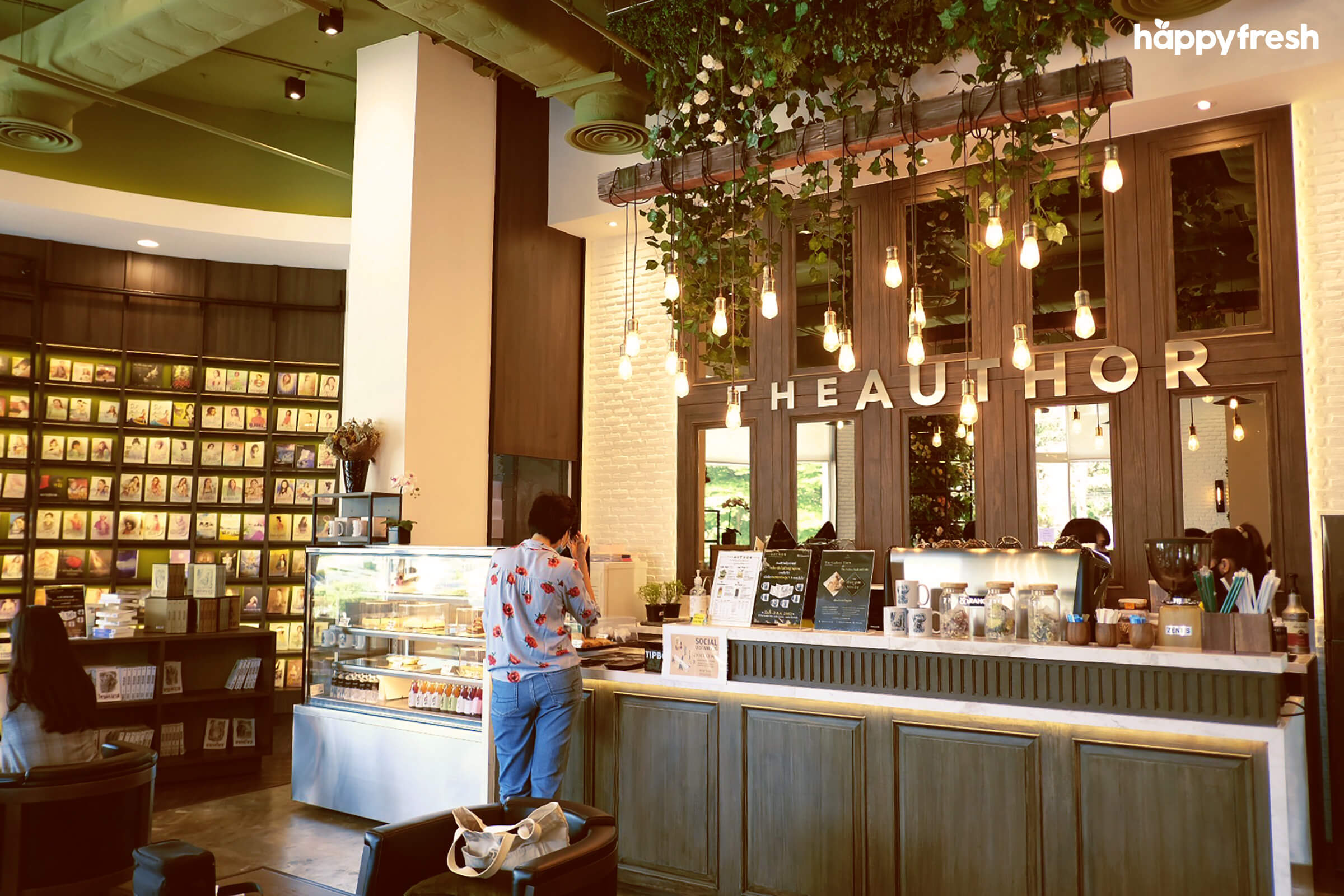 HappyFresh_Review_5_Cafes_Bookstores_In_Bangkok_The_Author_Cafe_Pantry