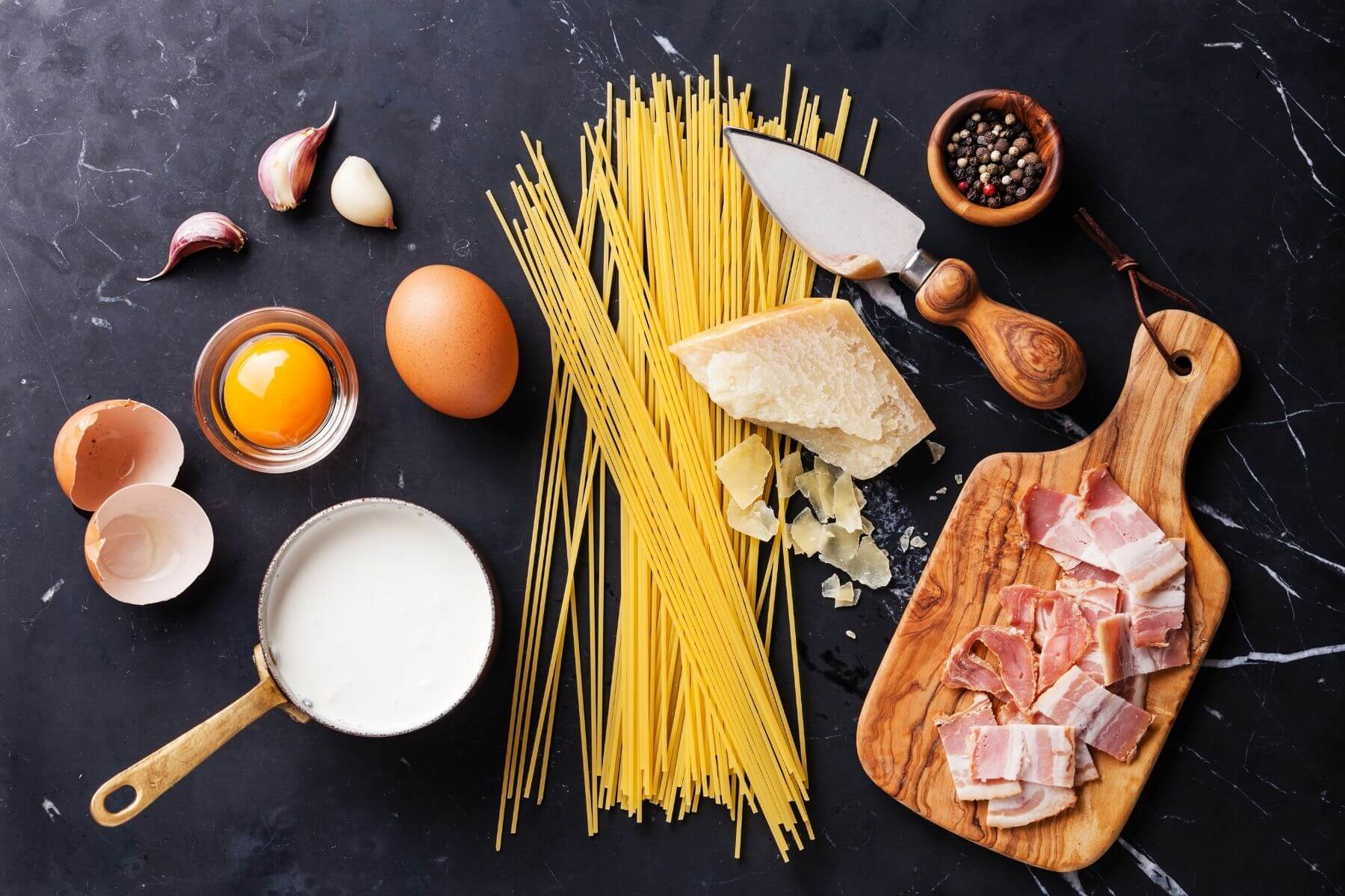 HappyFresh_Spaghetti_Carbonara_Ingredients