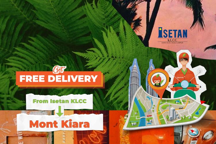 Isetan Free Delivery September