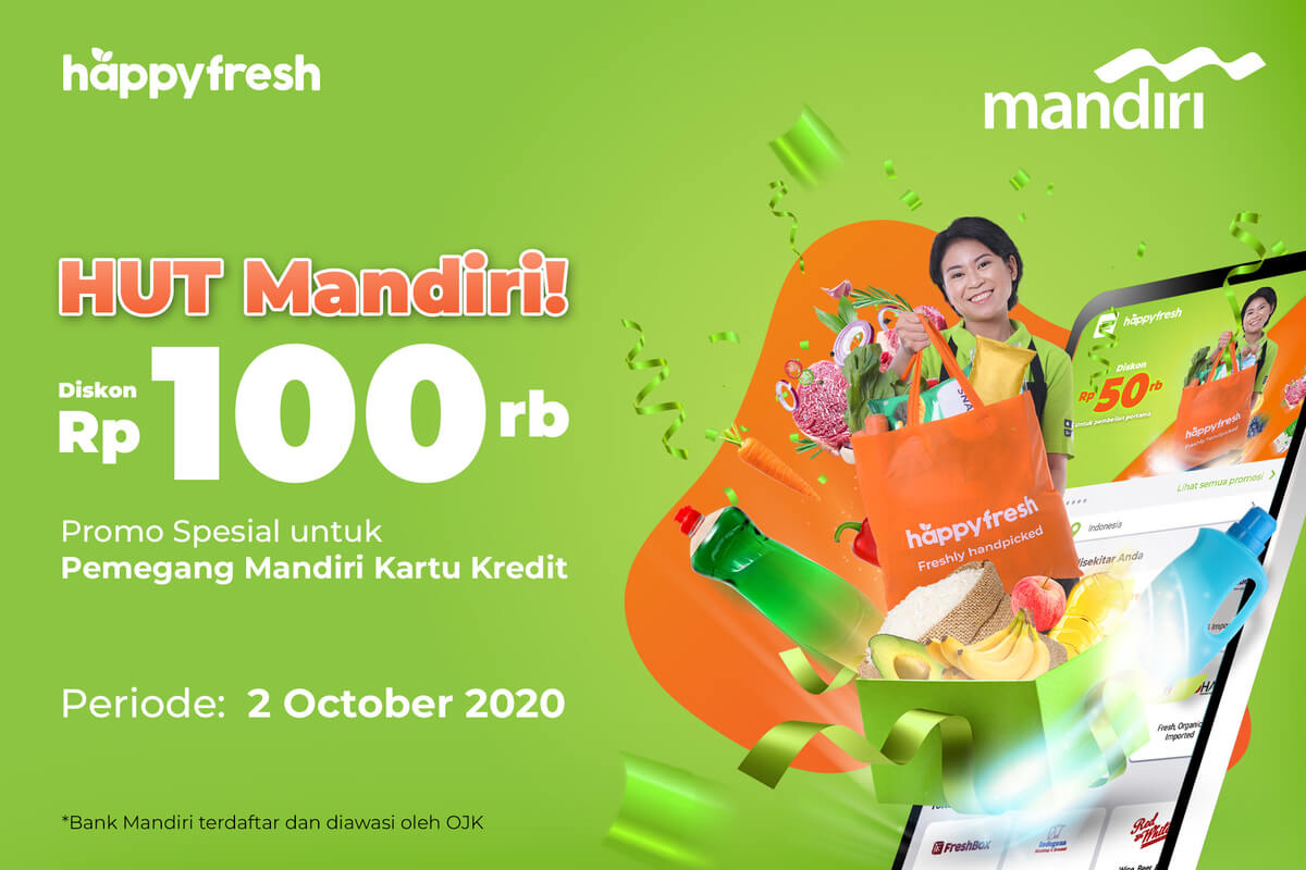 HappyFresh - HUT Mandiri 2020