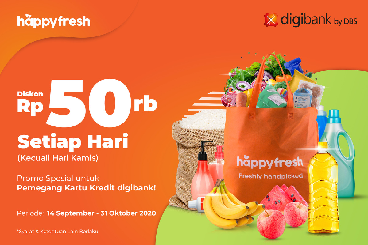 HappyFresh - digibank Promo Sept 2020
