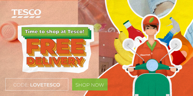 Tesco Free Delivery September Promo