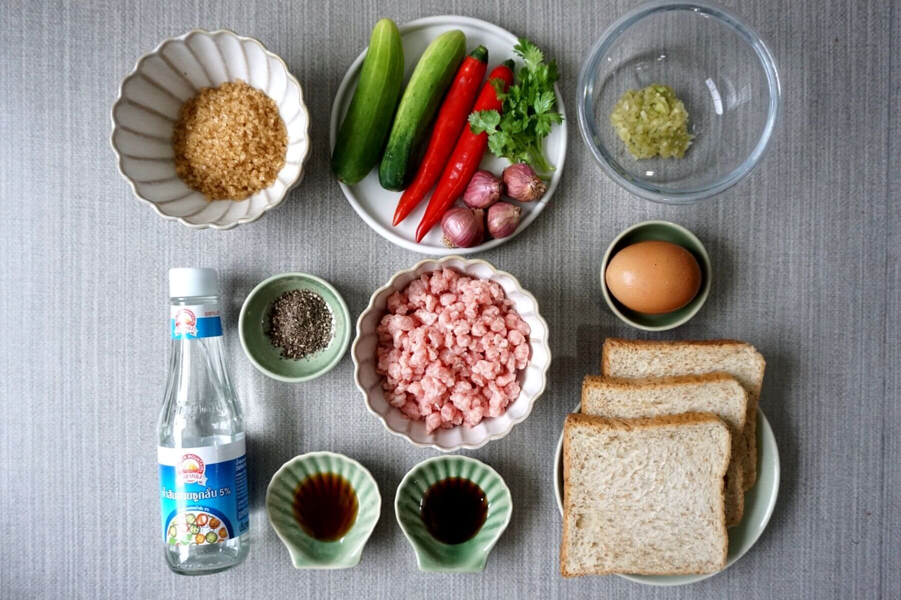 HappyFresh_Fried_Minced_Pork_Toast_Recipe_Ingredients