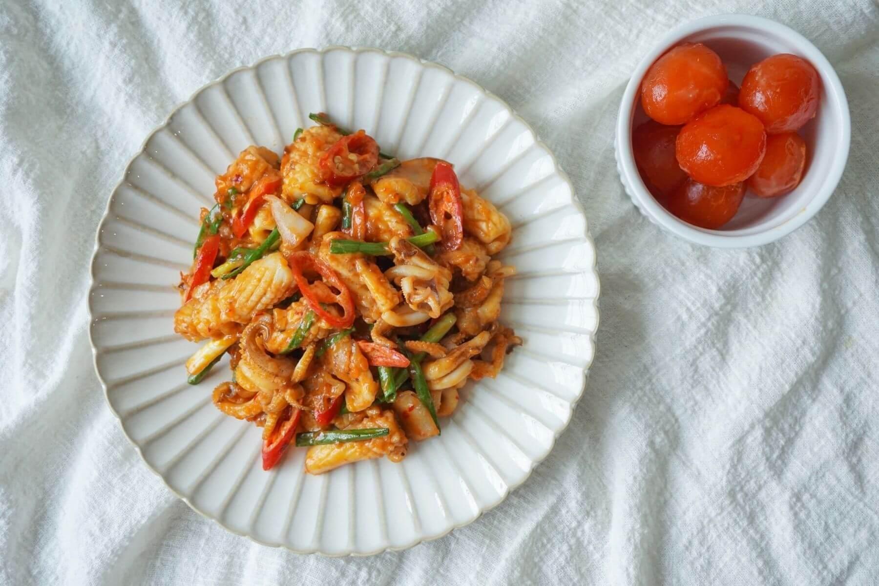 HappyFresh_Stir_Squid_With_Salted_Egg_Recipe
