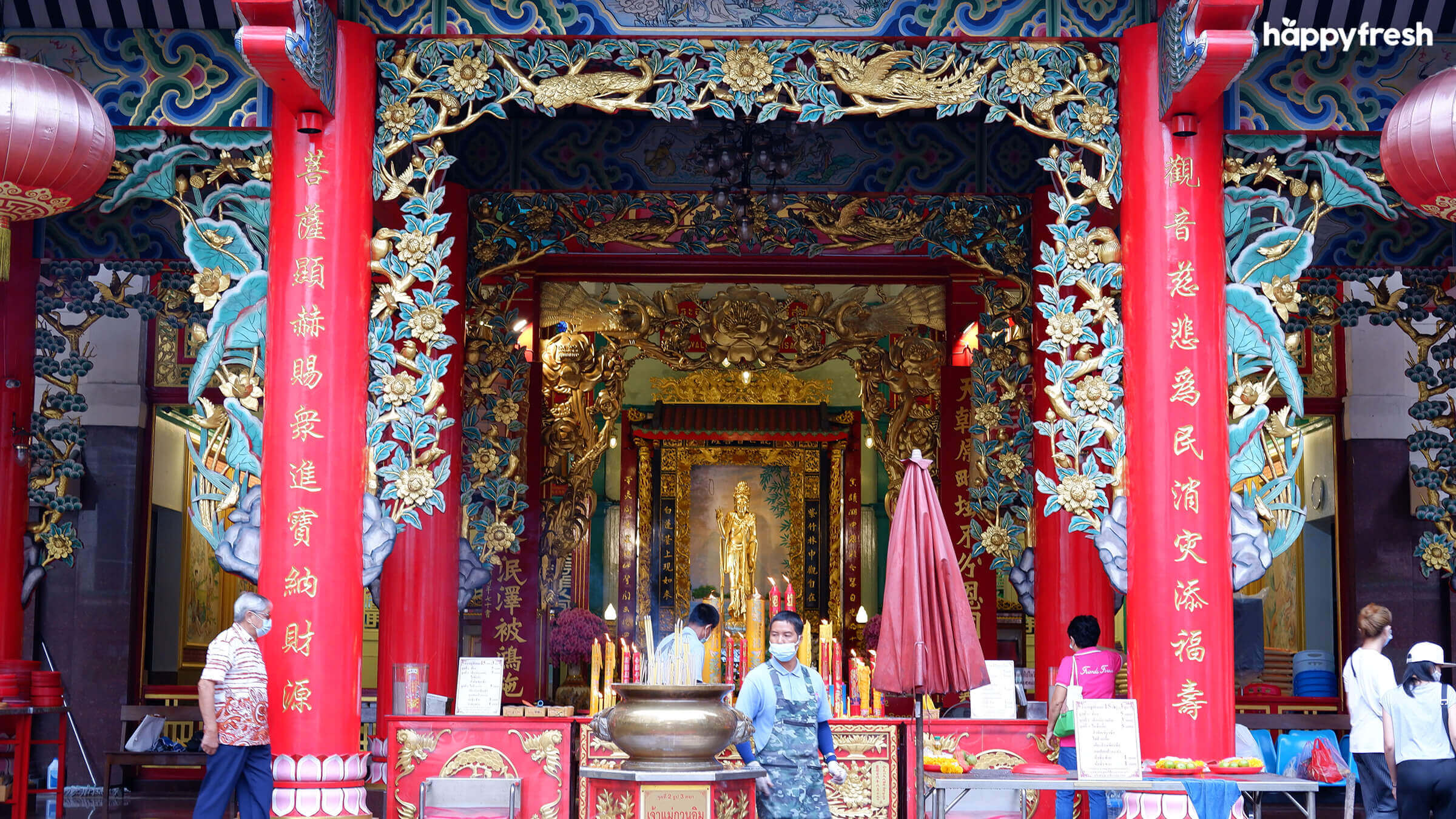 HappyFresh_Visit_6_Chinese_Shrines_In_Chinatown_Kuan_Yim_Shrine