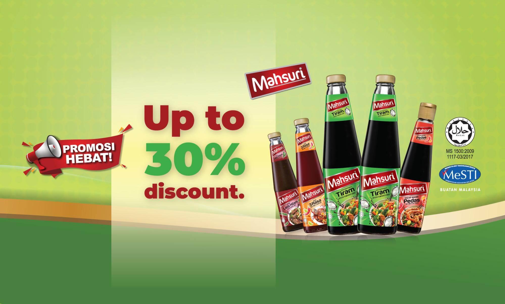 Up to 30% OFF Mahsuri HappyFresh