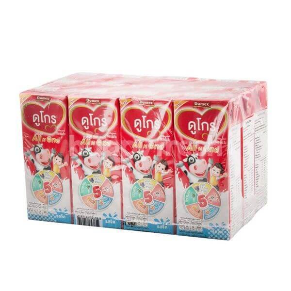 นม UHT ยี่ห้อไหนดี สำหรับเด็ก ดูโกร All n One