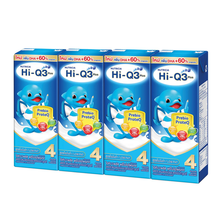 นม UHT ยี่ห้อไหนดี สำหรับเด็ก Hi-Q 1 Plus