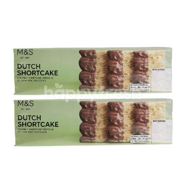 Marks & Spencer Dutch Shortcake (Banded Pack) (2X 150g)