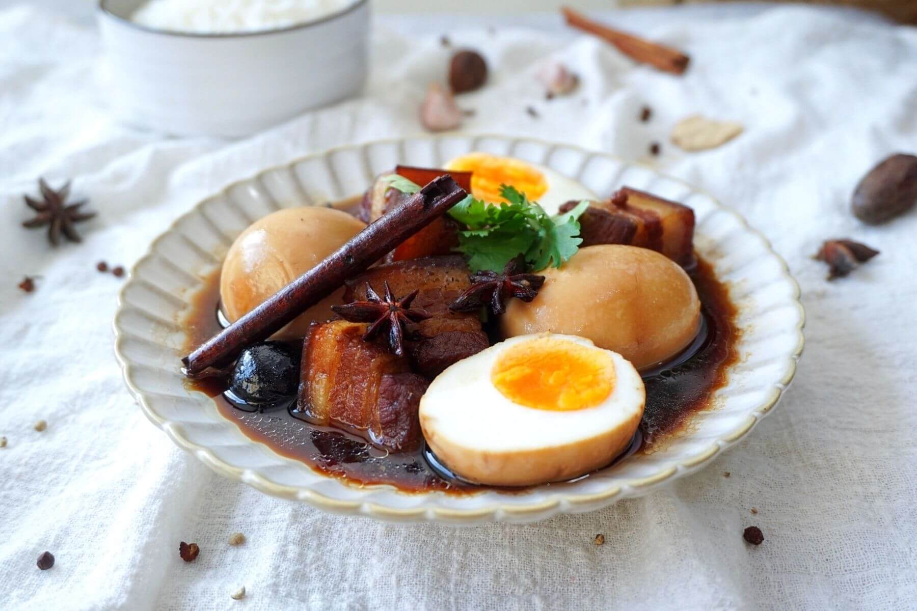 วิธีทำไข่พะโล้ ไม่ใช้ ผงพะโล้