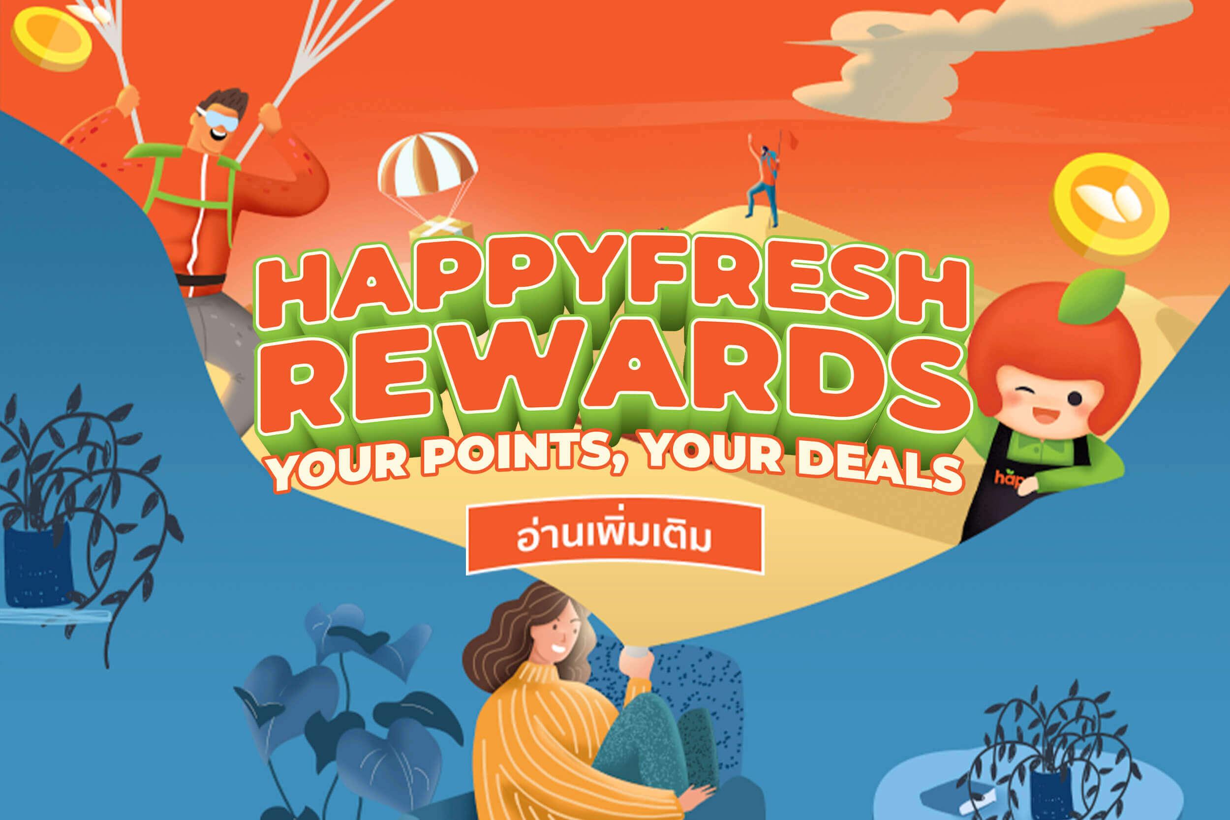 HappyFresh Rewards
