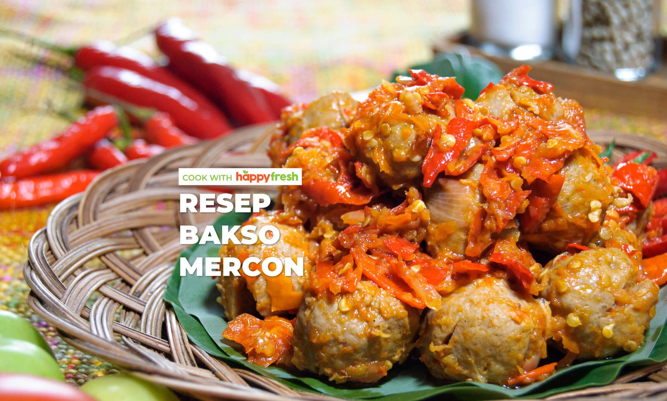 resep bakso mercon