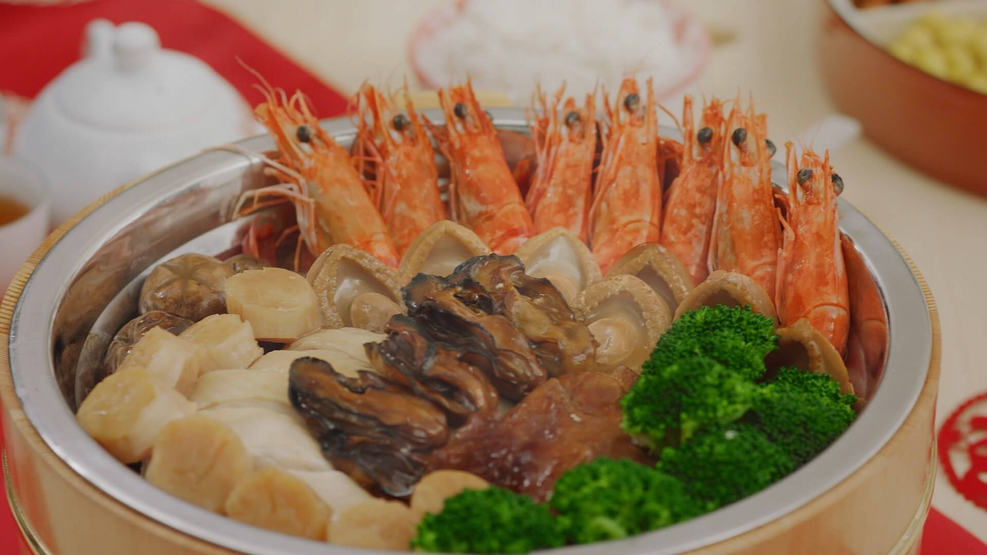 Chinese New Year 2021 Poon Choi recipe (Fortune Treasure Pot)