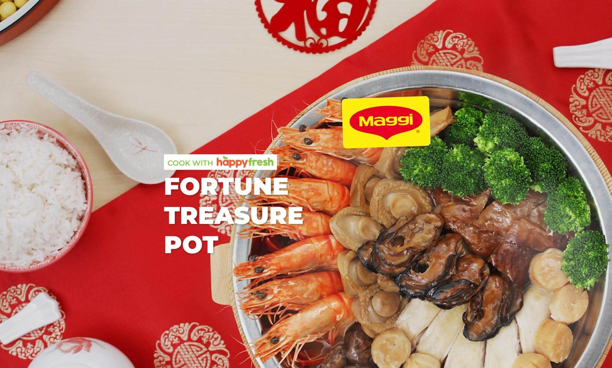 Maggi Poon Choi (Fortune Treasure Pot) for Chinese New Year 2021