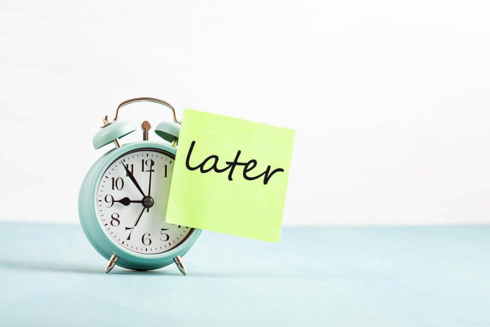 Stop procrastinating this new year