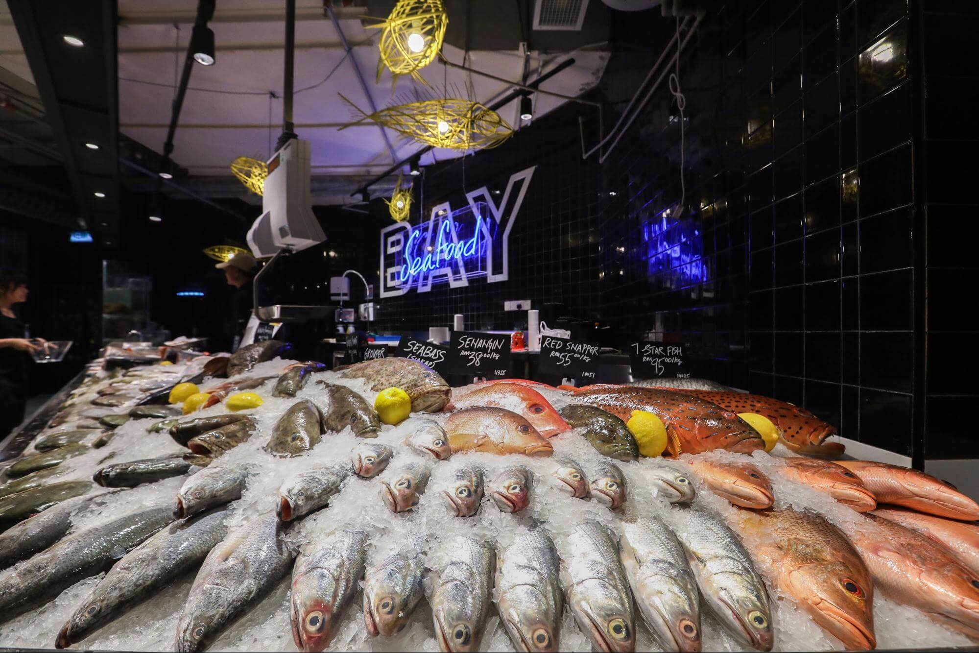 Ben's Independent Grocer seafood section
