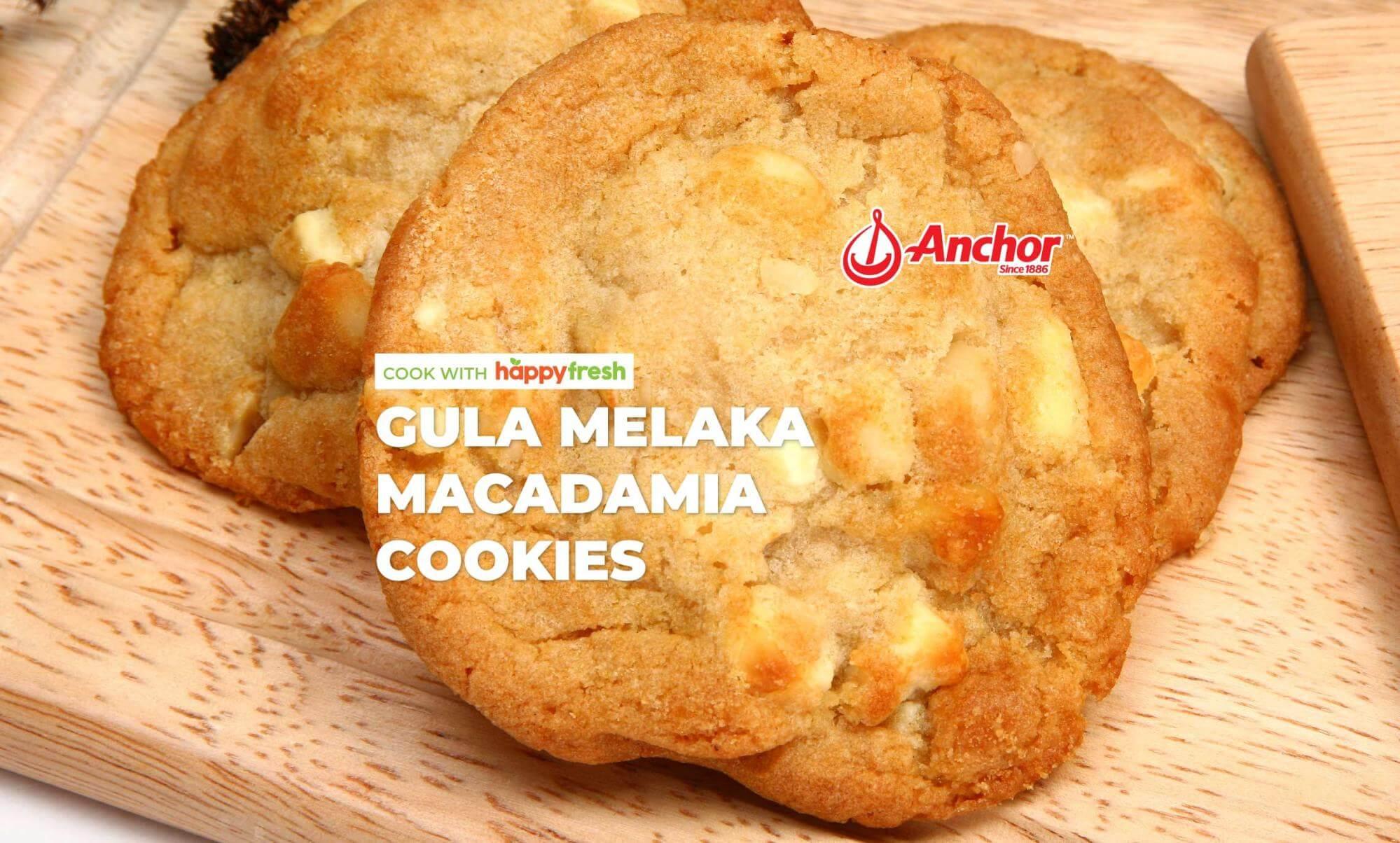 Gula Melaka Macadamia Cookies Recipe