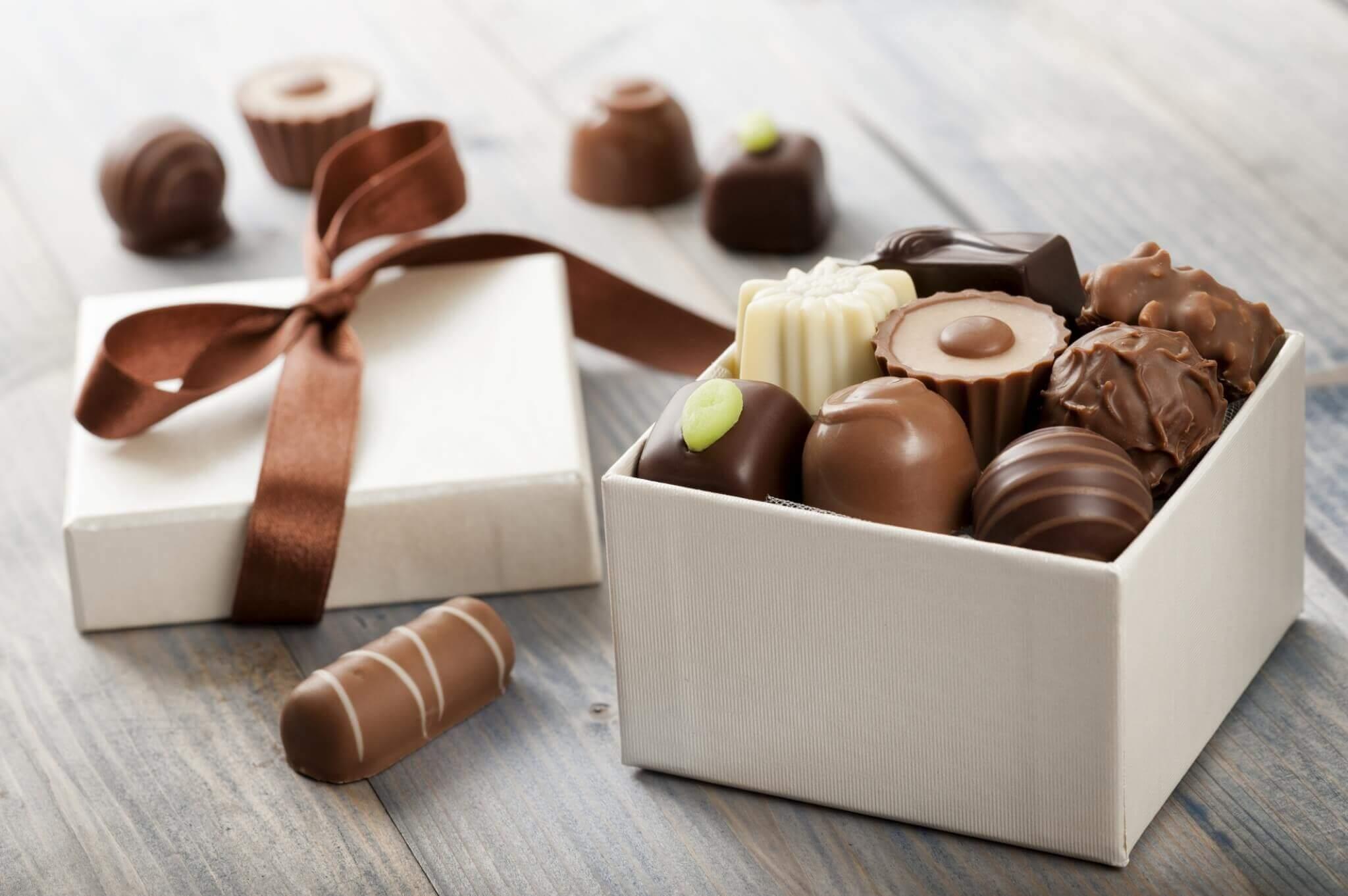 กล่องช็อกโกแลต