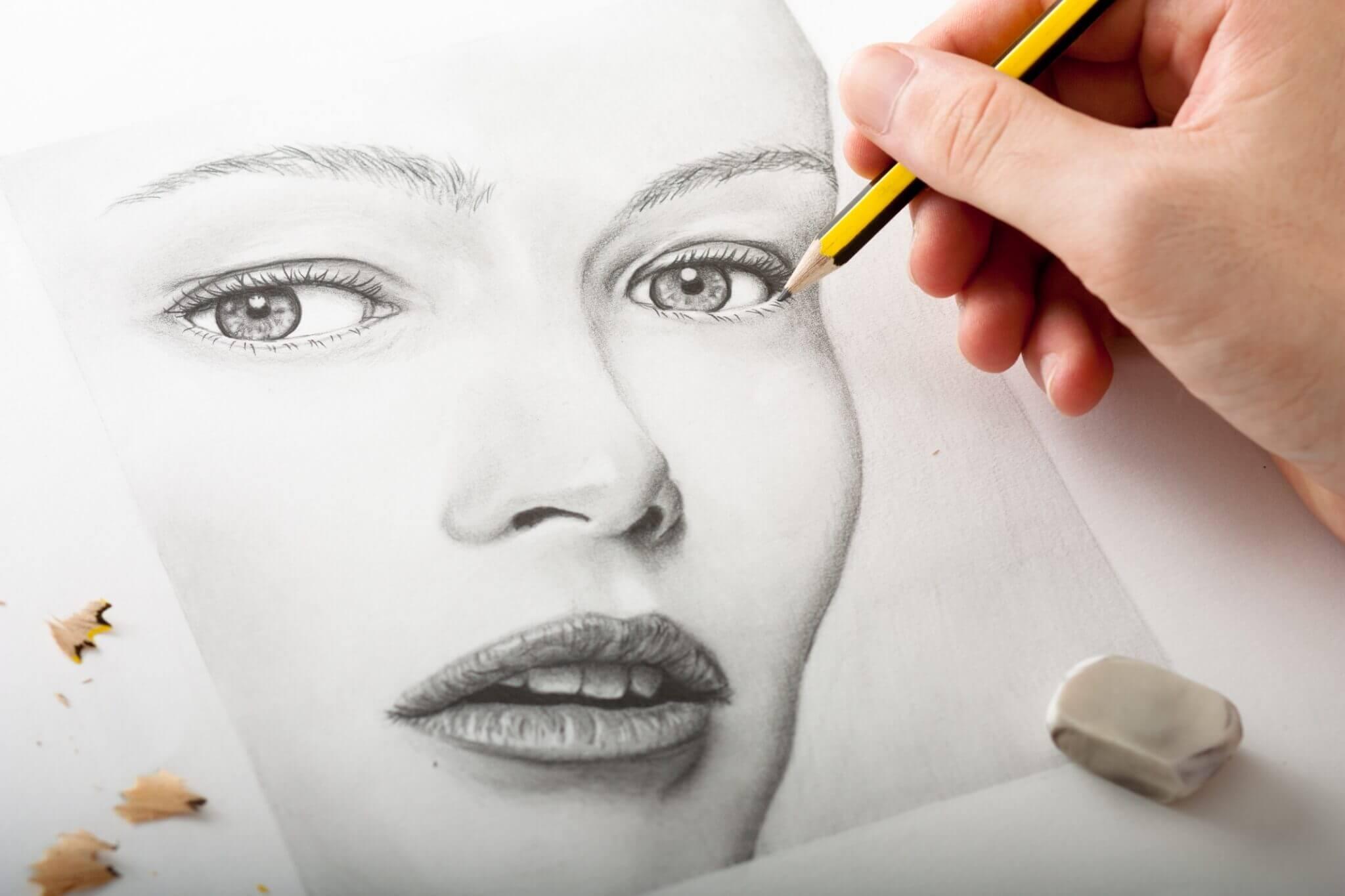 ไอเดียของขวัญวันวาเลนไทน์ 2021 วันแห่งความรัก รูปวาด portrait