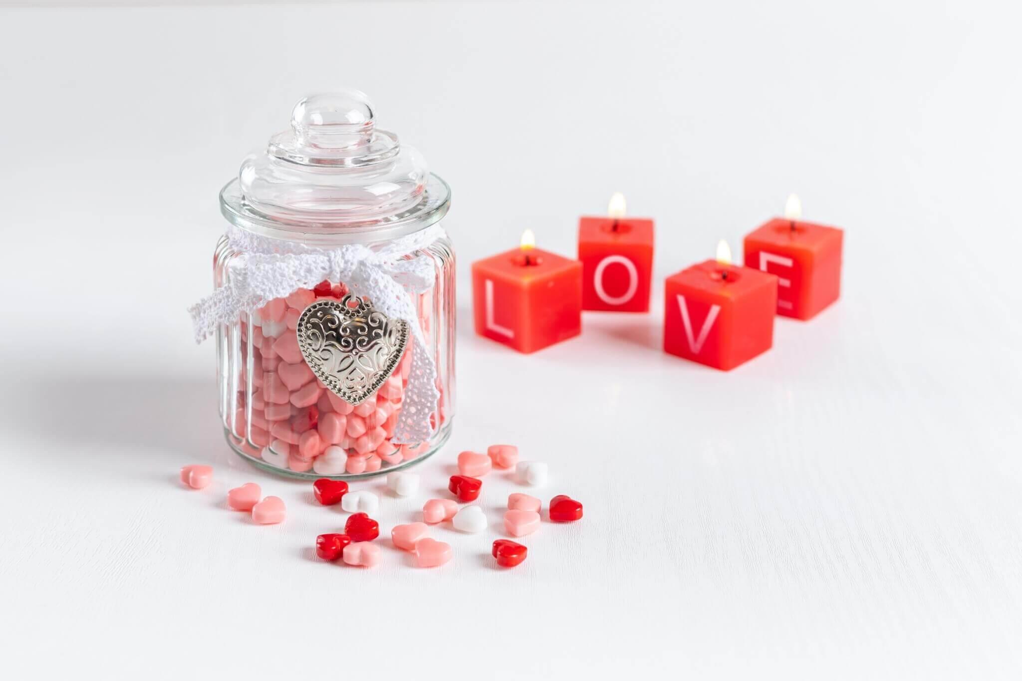 ไอเดียของขวัญวันวาเลนไทน์ 2021 วันแห่งความรัก ขวดบรรจุรัก