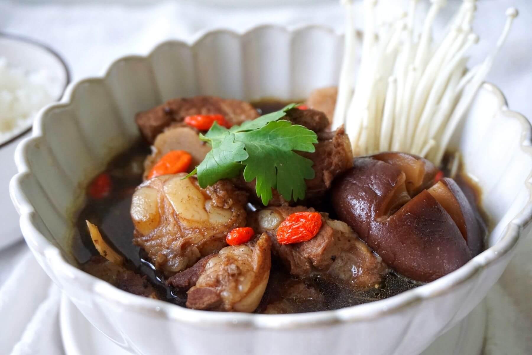 สูตรบักกุดเต๋ อาหารจีน