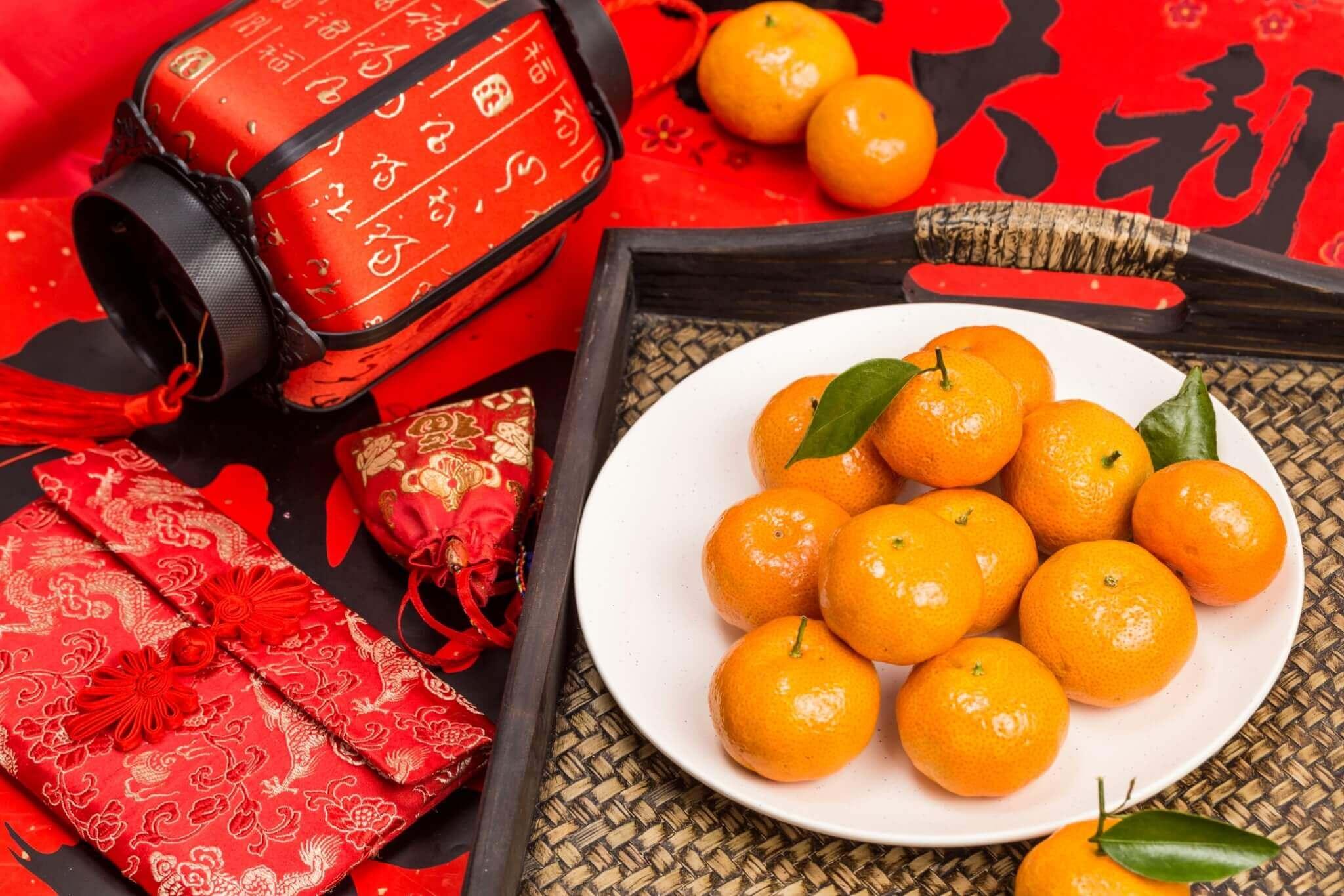 ผลไม้ ของไหว้วันตรุษจีน 2564
