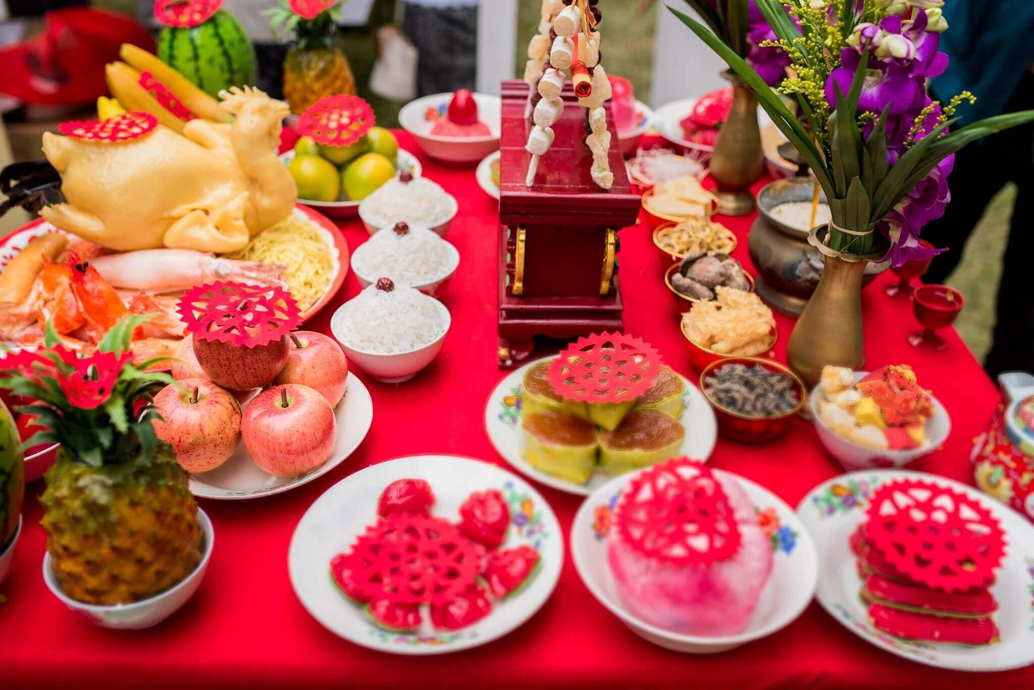 อาหาร ของไหว้วันตรุษจีน 2564