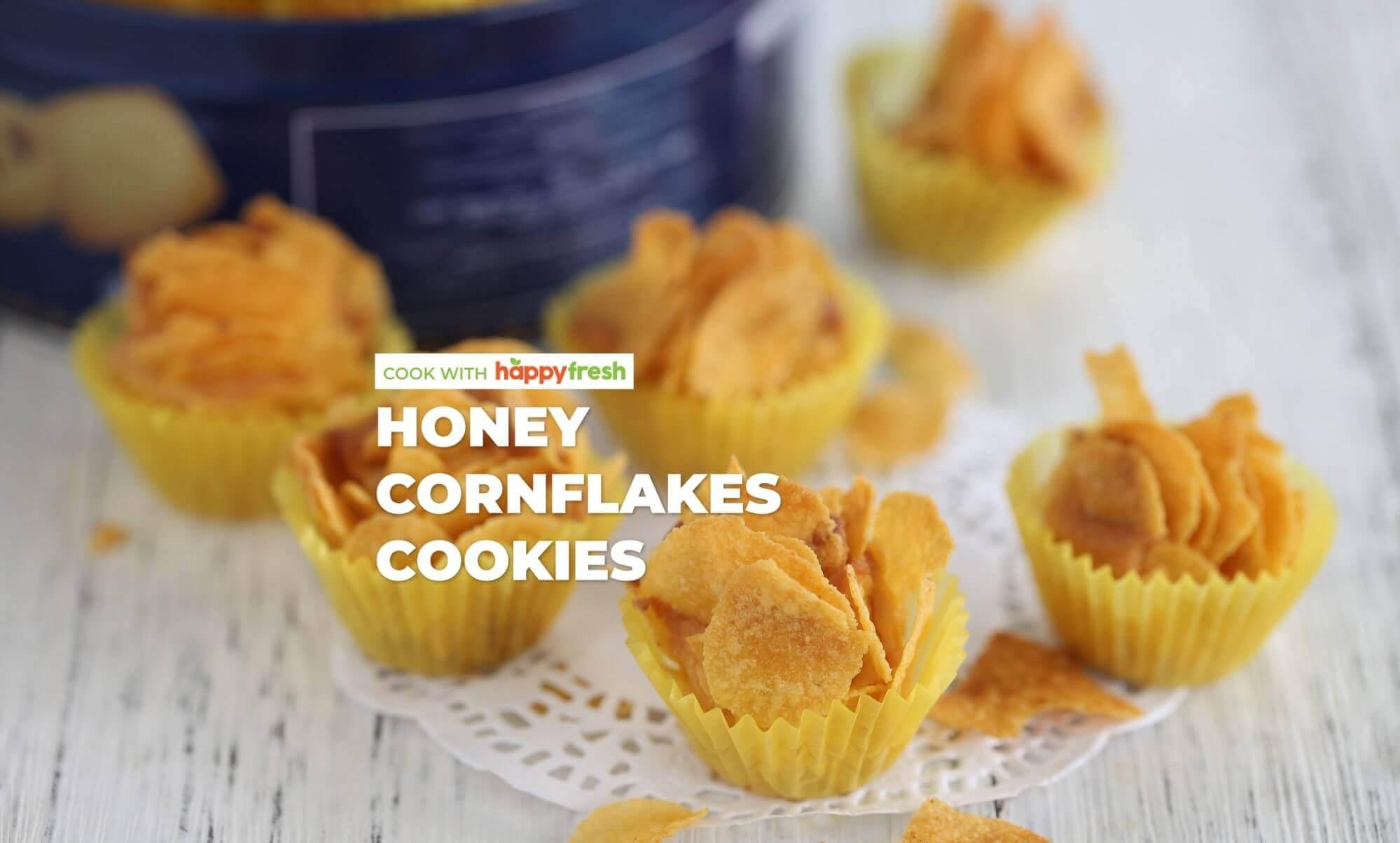 Honey Cornflakes Cookie Recipe